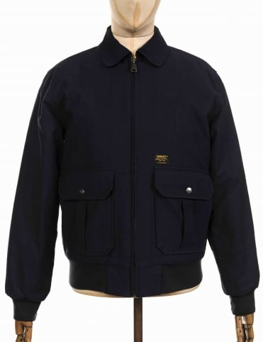 Aviator Jacket - Dark Navy