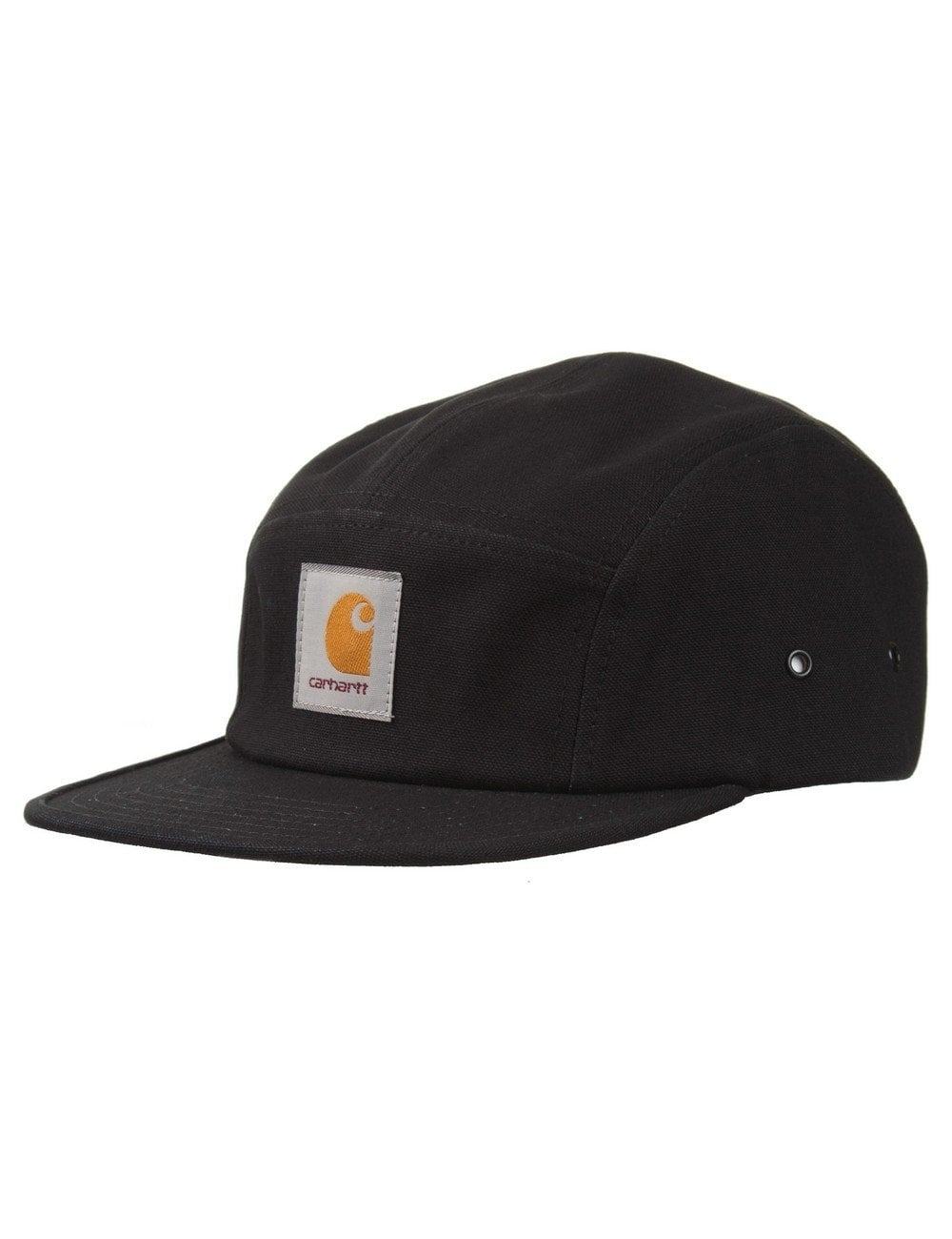 Carhartt WIP Backley 5 Panel Cap - Black - Accessories from Fat ... a7a96362ed5
