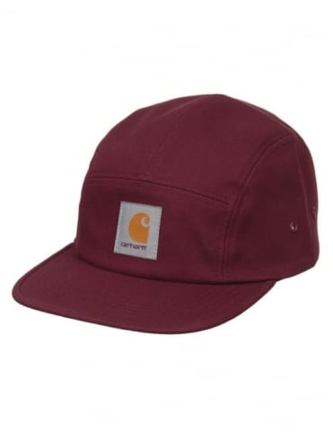 Carhartt Backley 5 Panel Hat - Chianti