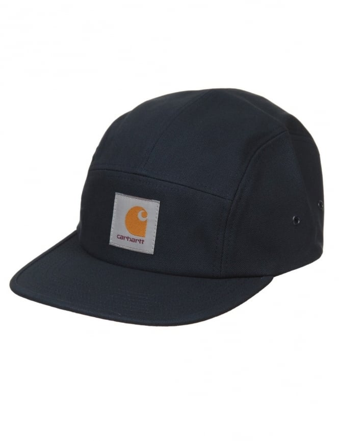 Carhartt Backley 5 Panel Hat - Navy