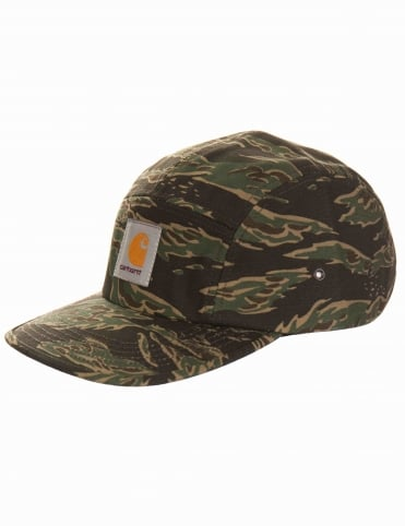 Backley 5 Panel Hat - Tiger Camo
