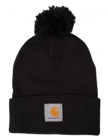 Carhartt Bobble Watch Hat - Black