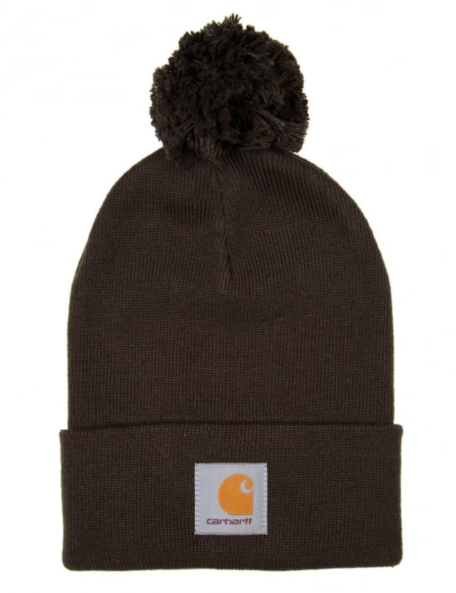Carhartt Bobble Watch Hat - Blackforest