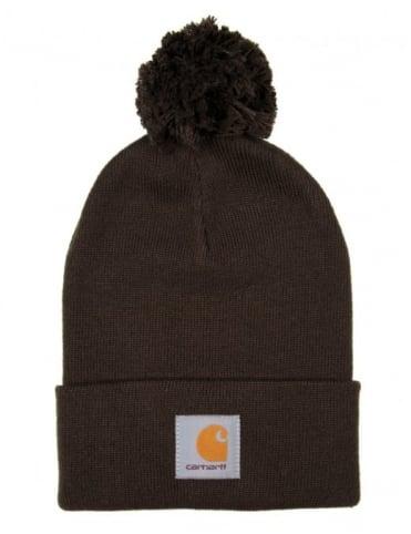 Carhartt Bobble Watch Hat - Blackforest