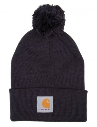 Carhartt Bobble Watch Hat - Dark Navy