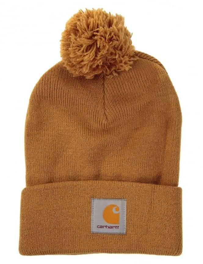 Carhartt Bobble Watch Hat - Hamilton Brown