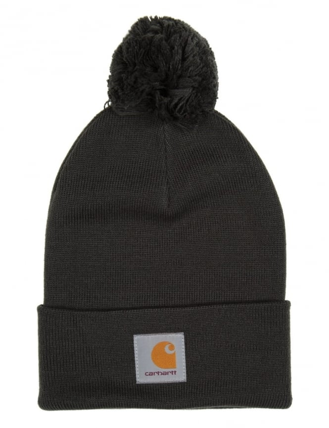 Carhartt Bobble Watch Hat - Laurel Green