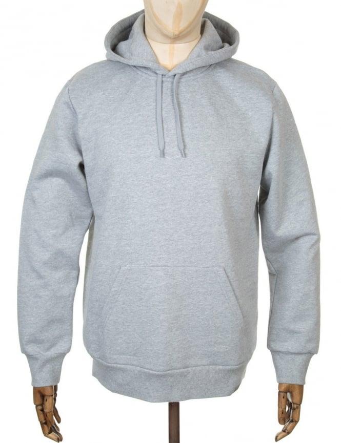 Carhartt Bridge Hooded Sweatshirt - Heather Grey