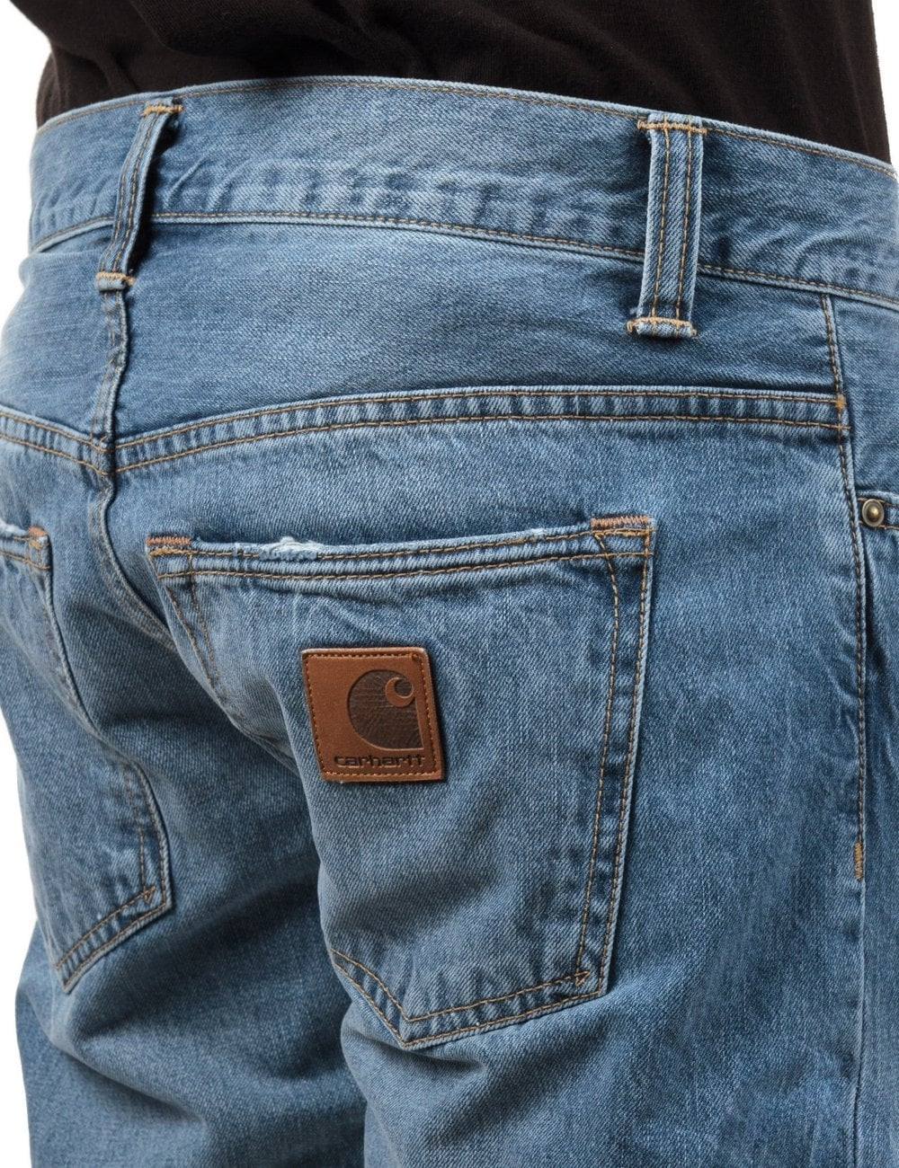 d699146b Carhartt WIP Buccaneer Pant - Blue Pier Washed - Clothing from Fat ...