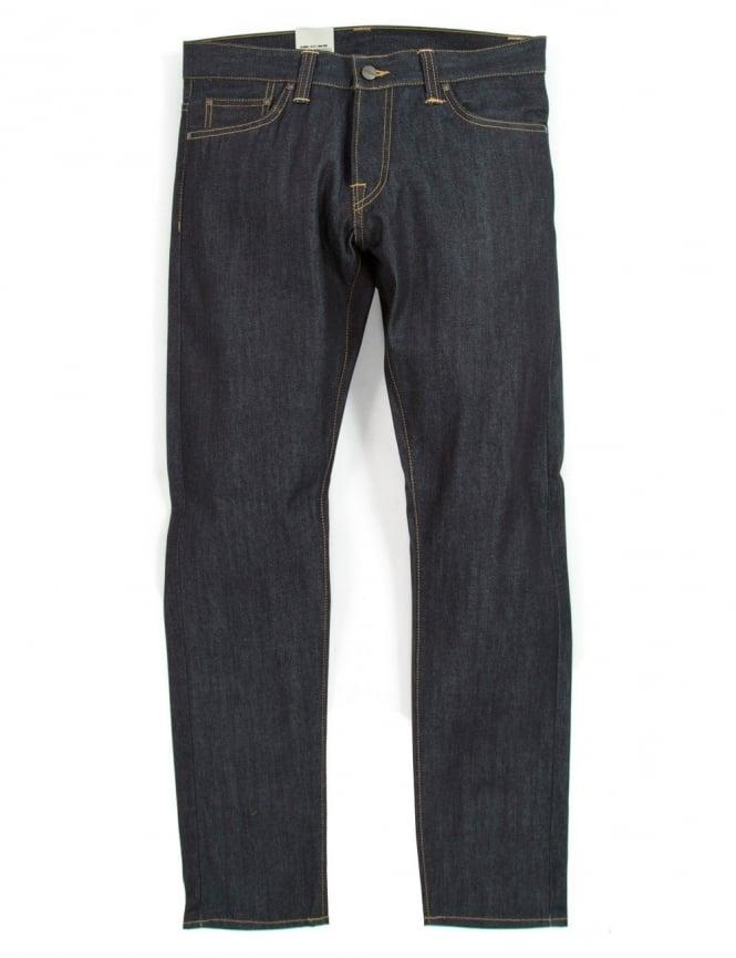 Carhartt Buccaneer Pant - Blue Rigid (Hanford Denim)