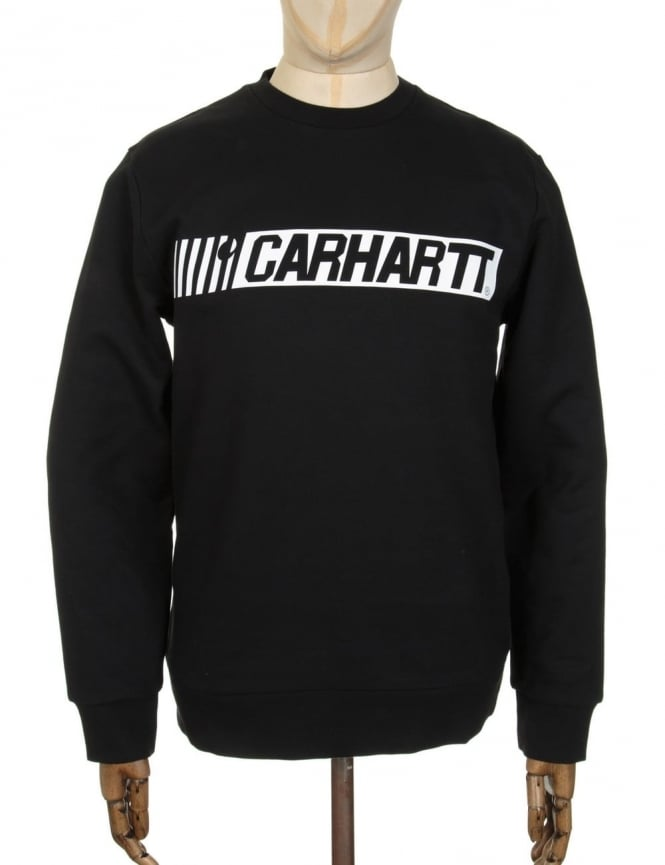 Carhartt Cart Sweatshirt - Black/White
