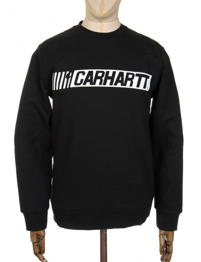 Carhartt Cart Sweatshirt - Black/White