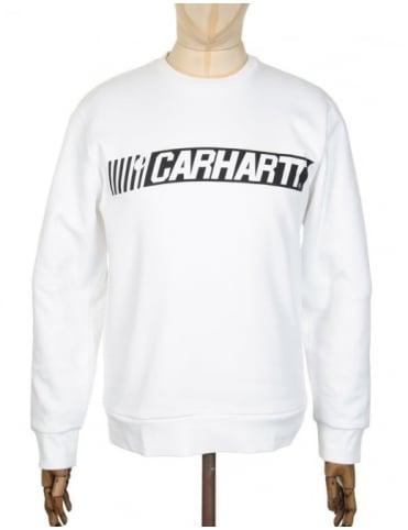 Carhartt Cart Sweatshirt - White/Black