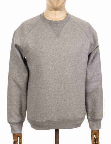 Chase Sweatshirt - Heather Grey