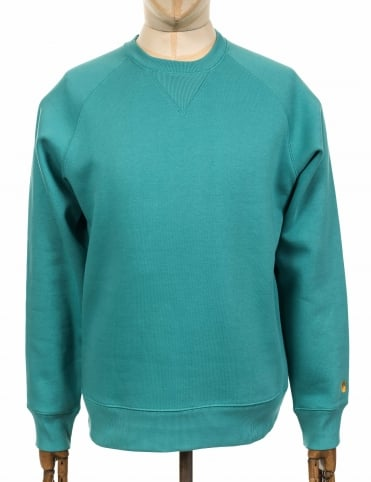 Chase Sweatshirt - Soft Teal