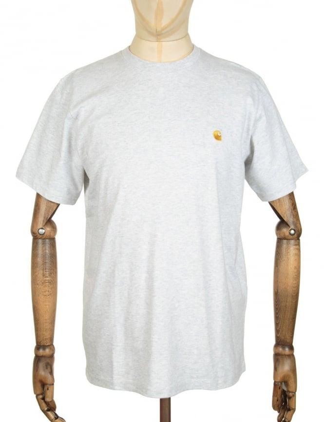 Carhartt Chase T-shirt - Ash Heather