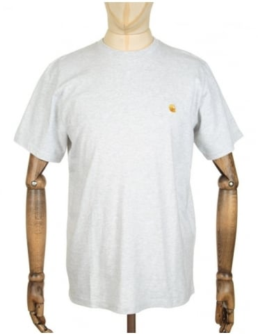 Carhartt Chase T-shirt - Ash Heather