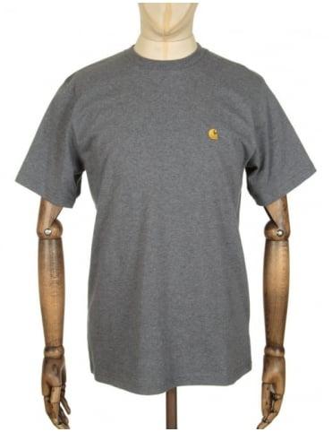 Carhartt Chase T-shirt - Dark Grey Heather