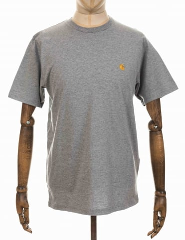 Carhartt Chase T-shirt - Heather Grey