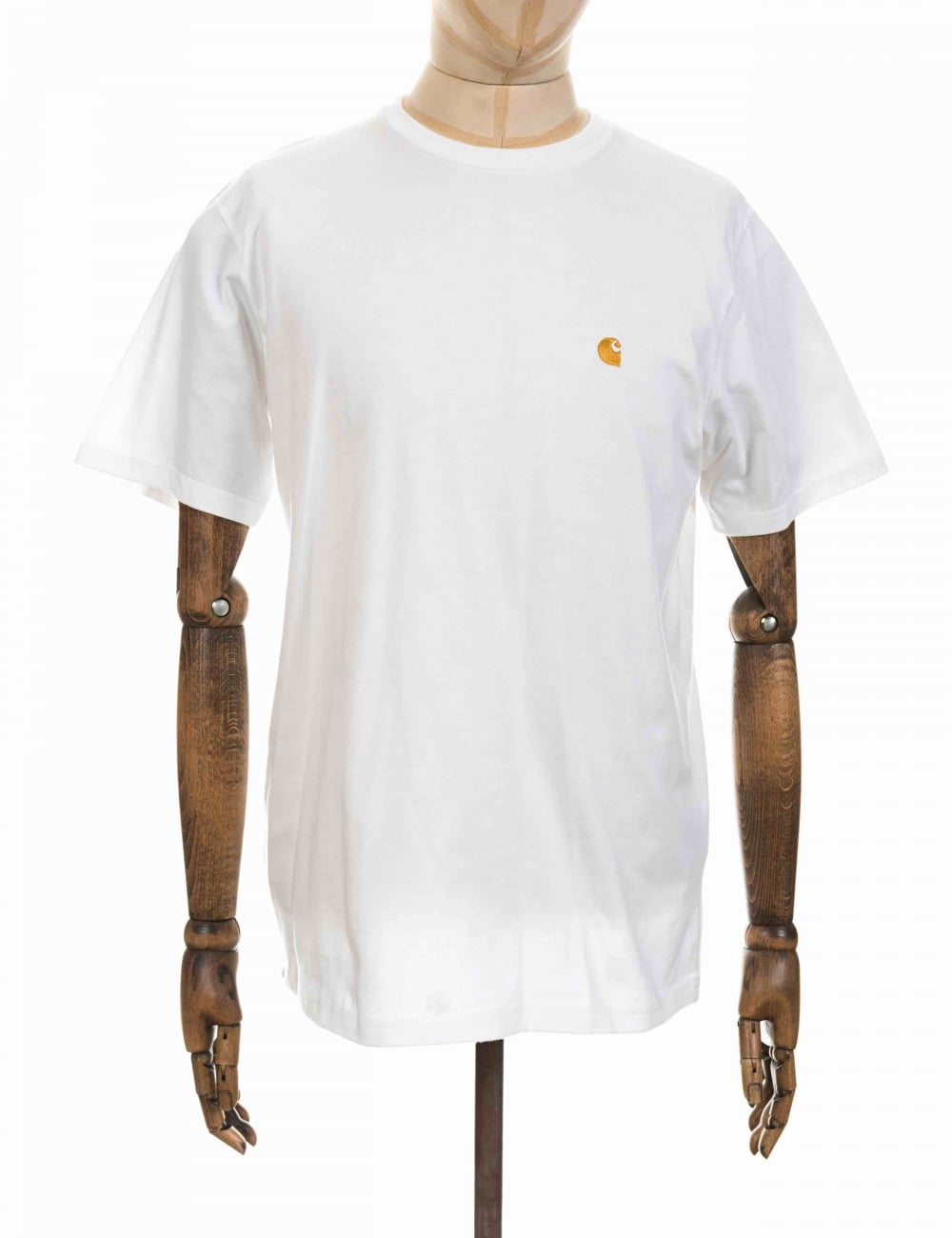 Carhartt chase t shirt white clothing from fat buddha for Carhartt tee shirts sale