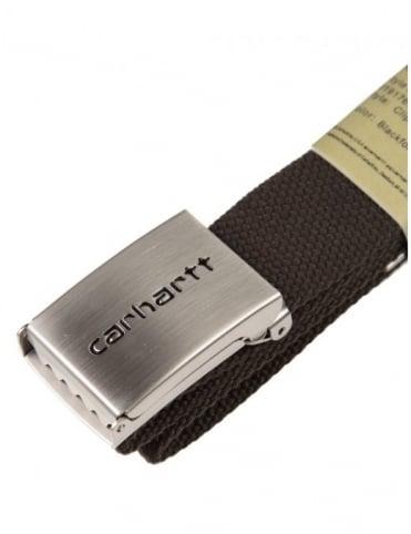 Carhartt Clip Belt Chrome - Blackforest