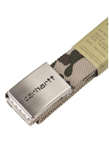 Carhartt Clip Belt Chrome - Duck Camo