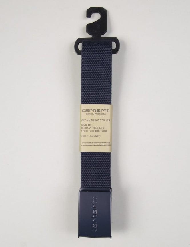 Carhartt Clip Belt Tonal - Dark Navy