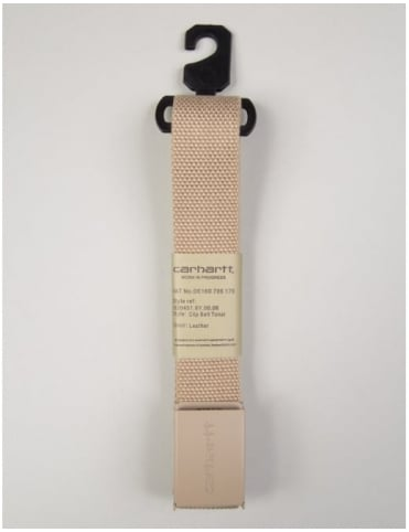 Clip Belt Tonal - Leather