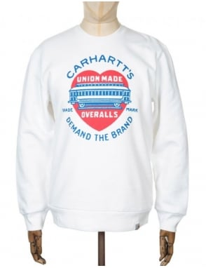 Carhartt Demand Sweatshirt - White