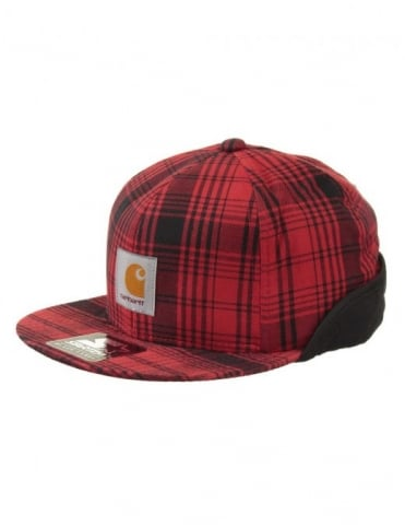 Duck Starter Cap - Marlon Check (Blast Red)