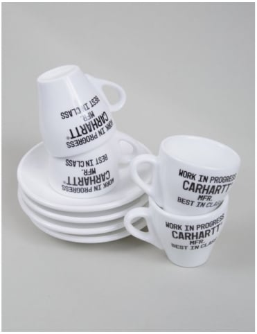 Carhartt Espresso Cups (set of 4) - White