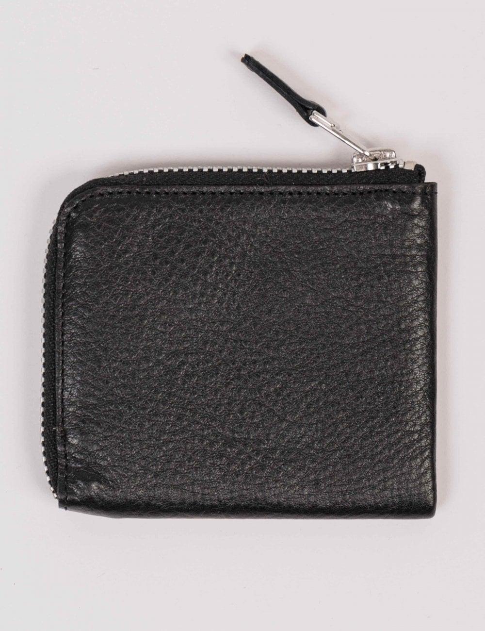 Carhartt WIP Half Zip Wallet - Black - Accessories from Fat Buddha ... cee24e680