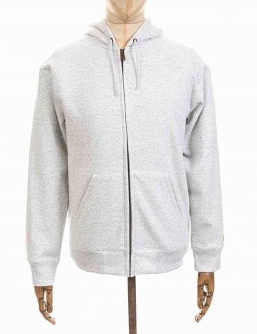 Carhartt Hooded Chase Jacket - Ash Heather