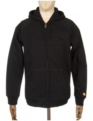 Carhartt Hooded Chase Jacket - Black