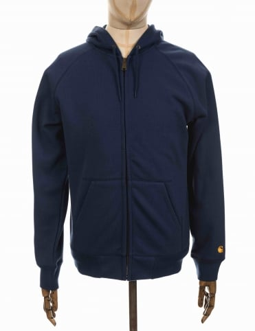Carhartt Hooded Chase Jacket - Blue
