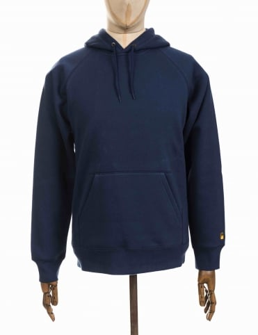 Carhartt Hooded Chase Sweat - Blue