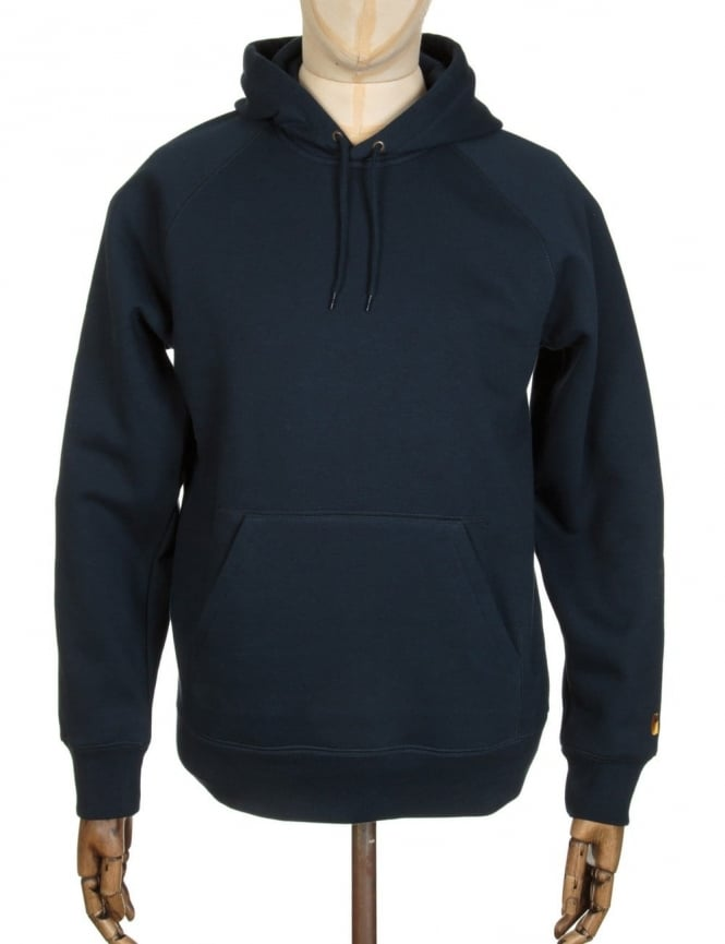 Carhartt Hooded Chase Sweat - Navy
