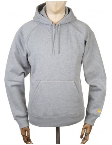Hooded Chase Sweatshirt - Heather Grey