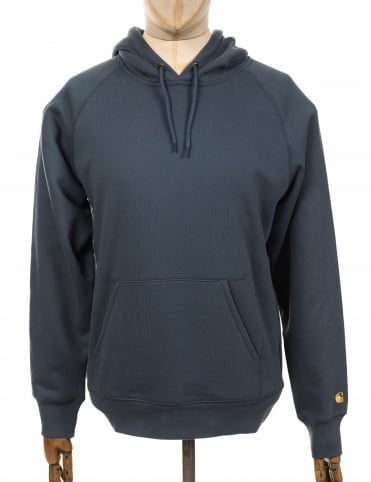 Hooded Chase Sweatshirt - Stone Blue