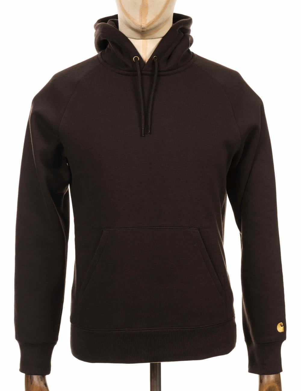 b65325bf Carhartt WIP Hooded Chase Sweatshirt - Tobacco - Clothing from Fat ...
