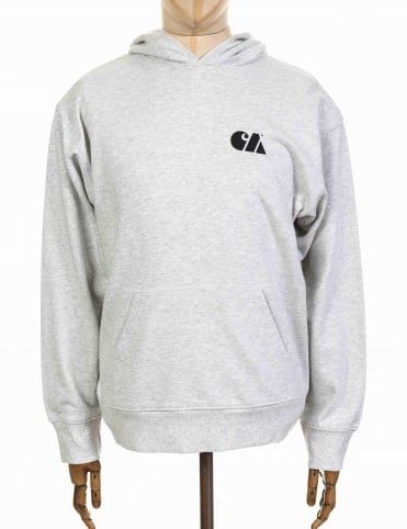 Hooded Military Training Sweatshirt - Ash Heather