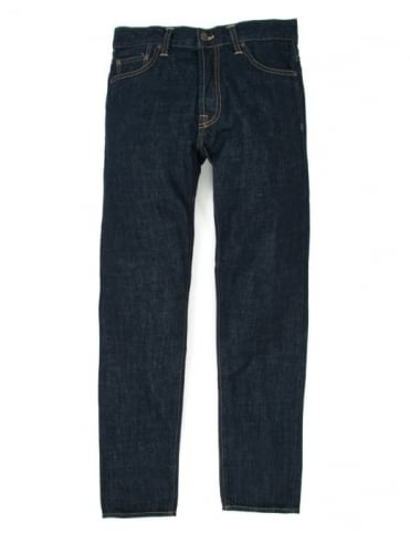 Carhartt Klondike Pant II - Blue Rinsed (Edgewood Denim)