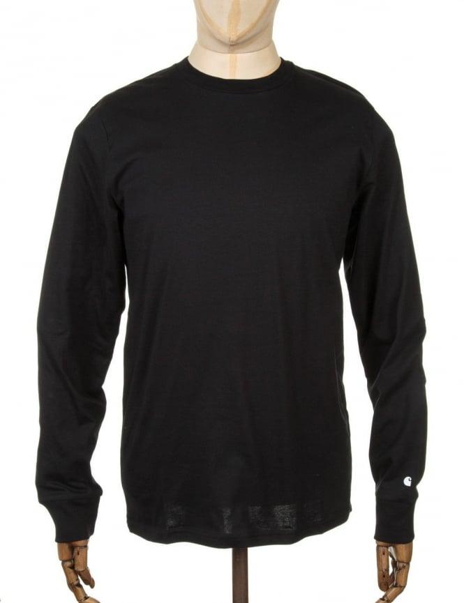 Carhartt L/S Base T-shirt - Black