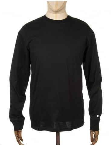 Carhartt L/S Base T-shirt - Black