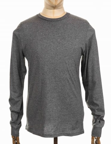L/S Base T-shirt - Dark Grey Heather