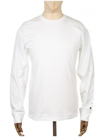 Carhartt L/S Base T-shirt - White