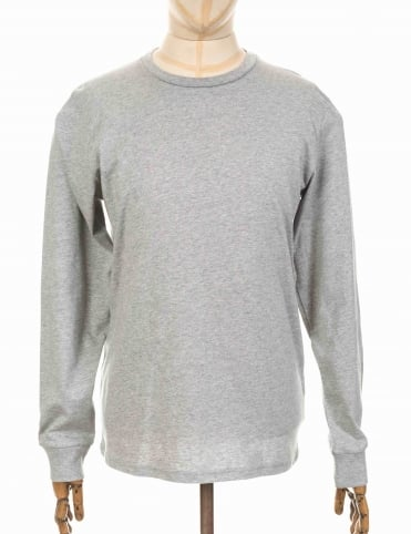 L/S Base Tee - Heather Grey