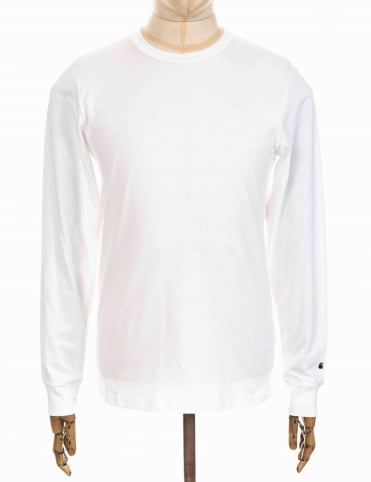 Carhartt L/S Base Tee - White
