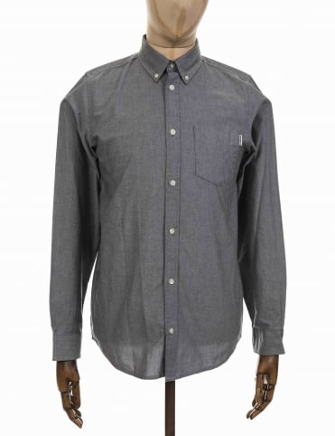 Carhartt L/S Button Down Shirt - Black