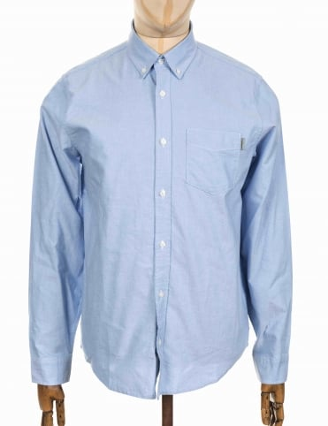 L/S Button Down Shirt - Bleach Blue